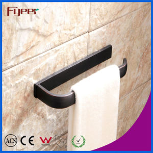 Fyeer Fashion Design Long Towel Ring Black Towel Bar pictures & photos