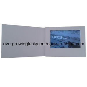 A6 Size 5inch LCD Screen Video Card pictures & photos