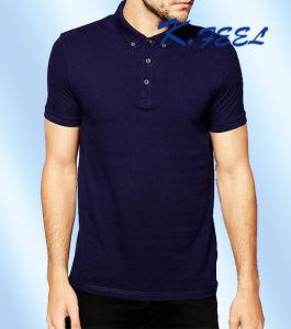 Custom Print High Quality Mens Polo Shirt by Clothing Manufacturer