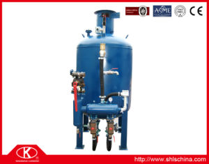 Double-Silo Automatic Pressure Type Sandblasting Machine