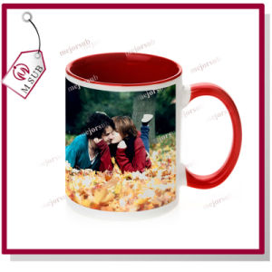 11oz Sublimation Inner Color Ceramic Coffee Mug for Promotion pictures & photos