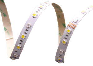 Signcomplex Flexible 5050 SMD RGB+White Hybrid Shenzhen LED Strip Light UL pictures & photos