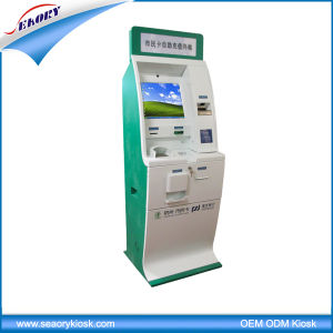 Lobby Standing Multifunction Self Service Terminal with Cash Acceptor Kiosk pictures & photos
