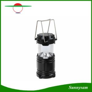 Portable Extension Type 6 LED Rechargeable Solar Camping Lantern pictures & photos