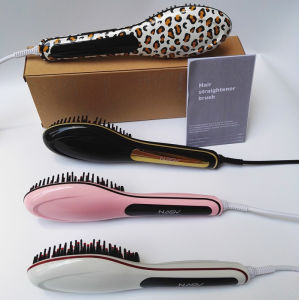 Nasv Four Colors Hair Straightener Brush pictures & photos