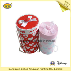 Cylindrical Paper Packaging Gift Box (JHXY-PB0012)