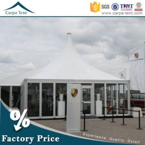 100 Seaters Garden Aluminum PVC Pagoda Cheap Outdoor Entertainment Tent pictures & photos