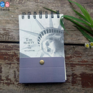 Factory Supply Small Printing Promotional Spiral Notepads with Bound