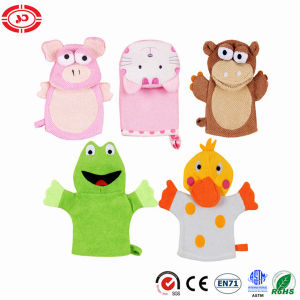 Child Bath Rub Puppet Plush Gloves Baby Animal Toy Gift pictures & photos