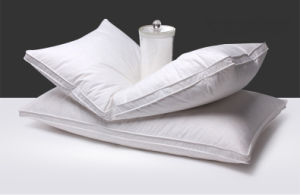 Idfl Tested Soft Feeling White Duck Down Pillow pictures & photos