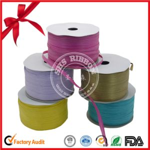 Colorful Polyester Raffia Curly Ribbon pictures & photos