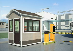 Detachable Luxury Mobile Modular Security Guard Booth