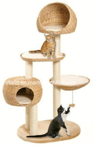 Cat Furniture Climber Bed Cage Toy Cat Tree pictures & photos