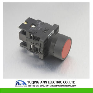 Xb2-Ea Flush Momentary Reset Plastic 220V Metal IP40 Waterproof Electrical Push Button Switch with Siver pictures & photos
