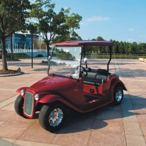 CE Approved 4 Seater Airport Electric Golf Cart (DN-4D) pictures & photos
