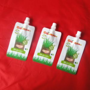 Reusable Plastic Spout Pouch for Liquid Packaging pictures & photos