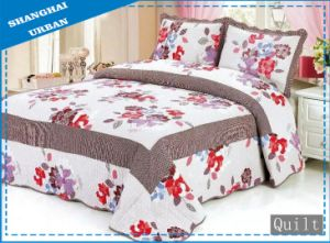 100%Cotton Print Bedding Quilt (bed cover) pictures & photos