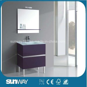 Modern MDF Bathroom Furniture with Sink (SW-1501) pictures & photos