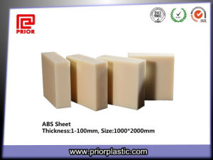Beige ABS Sheet with Smooth Surface pictures & photos