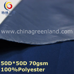 Polyester Pongee Plain Dyeing Spandex Fabric for Jacket Blouse (GLLML338) pictures & photos