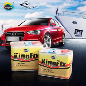Kingfix Automotive Collision Repair Paint with Very Accurate Color Matching pictures & photos