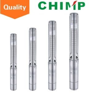 High-Efficient Stainless Steel Submersible Deep Bore Well Water Pump (4SPM504-0.37) pictures & photos