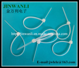 7.6X550 mm White Plastic Self-Locking Cable Tie with UL Certificate pictures & photos