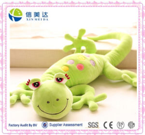 Green Gecko China Plush Toy Factory pictures & photos