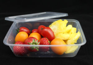 Wholesale Plastic Microwave Safe Packing Food Container pictures & photos