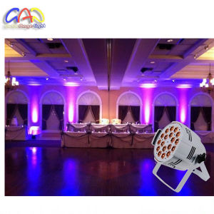 18PCS*18W 6in1 Rgbaw UV LED Aluminum PAR Can pictures & photos