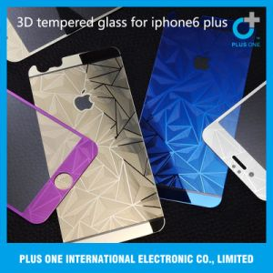 3D Electroplating Tempered Glass Screen Protector for iPhone6 Plus pictures & photos
