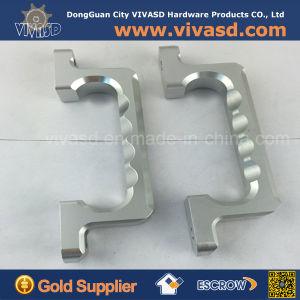 CNC Machining Parts Milling Parts Silver Aluminium Handles pictures & photos