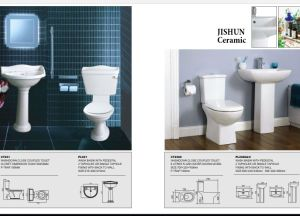 The Latest Siphonic Two-Piece Sanitaryware of Bathroom Furniture pictures & photos