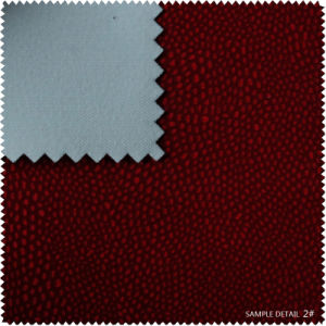 Flocking Highlight Tc Backing PU Leather for Shoe (s160) pictures & photos
