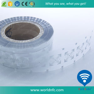 Blank Paper 915MHz Monza 5 UHF RFID Sticker with Packing in Roll pictures & photos