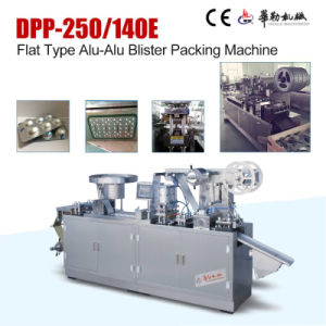 Dpp-140e Small Functional Aluminum Foil Blister Packing Machine pictures & photos