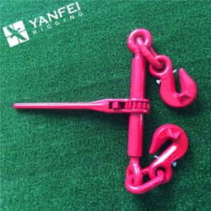 Grade80 Ratchet Type Lashing Chain Load Binder with Hooks pictures & photos