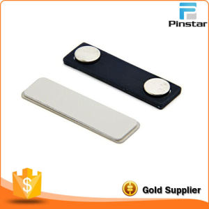 Aluminum Alloy Badges Staff Card Order Insert Paper Replaceable Nag, Pin, Magnet Wear a Glue Badges pictures & photos