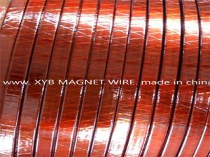 Thin Single Class Covered and Polyimide Film Wrapped Rectangular Copper Wire