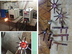High Frequency Induction Heating Machine Hf-40kw pictures & photos