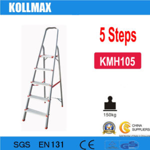 5 Steps Household Aluminum Ladder pictures & photos