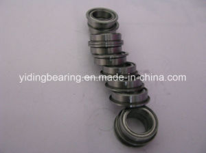 China High Quality Mf128 Miniature Bearing Flange Bearing 8X13.6X3.5mm Flanged Sleeve Bearing pictures & photos