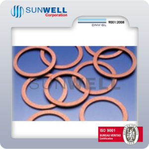 Solid Copper Gaskets Flat Copper Gaskets Red Copper (SUNWELL) pictures & photos