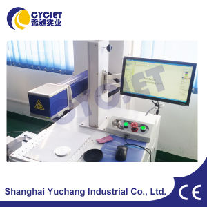 Professional Stationary Fiber Metal Marking Machine pictures & photos