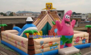 0.55m PVC Inflatable Bouncer for Indoor or Outdoor Use (A185)