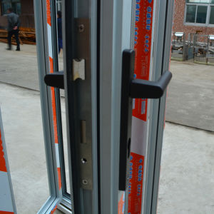 High Quality Thermal Break Aluminum Folding Door K07009 pictures & photos