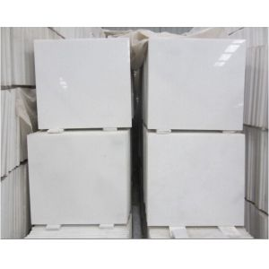 Natural Crystal White Marble Tile for Flooring/Wall Cladding pictures & photos
