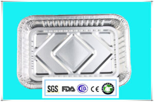 High Quality Aluminum Foil Tableware of Food pictures & photos