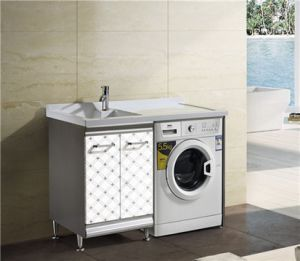 Bahtroom Cabinet with Washing Machine (T-9593) pictures & photos