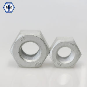 Hex Nut A563 10s H. D. G pictures & photos